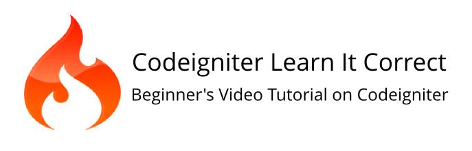 Cara Cepat dan Mudah Install CodeIgniter, codeigniter-tutorial