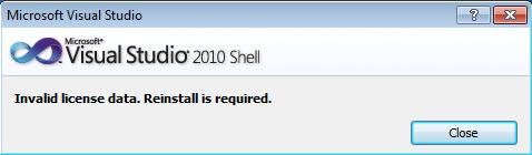Fix Cara Memperbaiki Invalid License Data Di Visual Studio Vb.Net, visual studio 2008