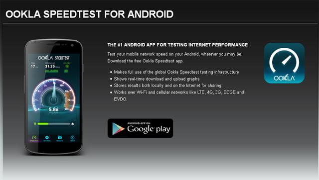 kecepatan internet indonesia, Cara Cek Kecepatan Internet Hp Android Indonesia
