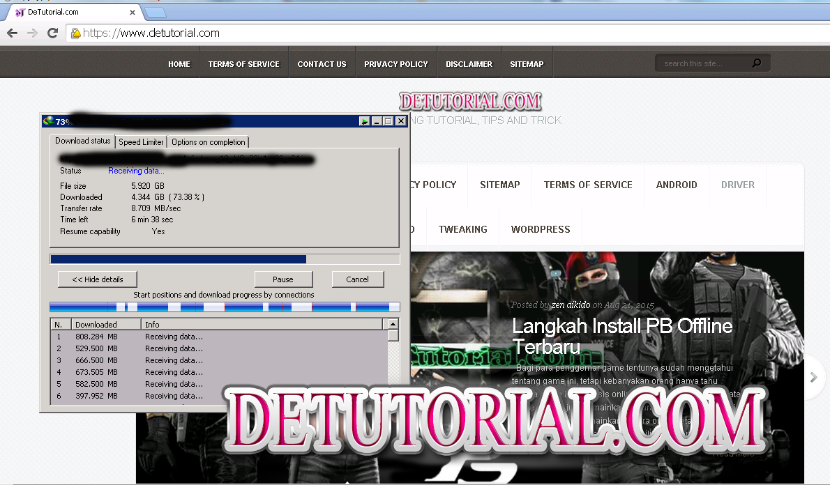 Jasa Download Upload File Gajah