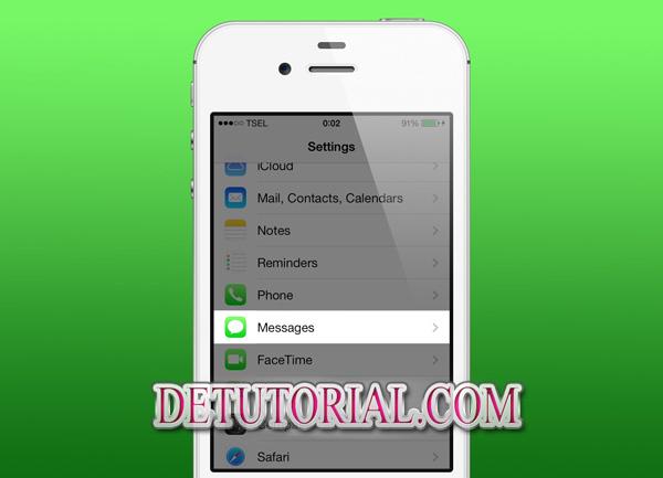Tips Mudah dan Cepat Cara Block SMS dan Telepon di IOS 7