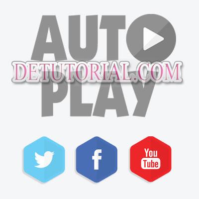 Cara Mematikan atau Menonaktifkan Autoplay Video di Fb