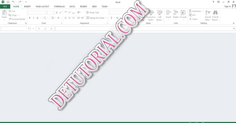Kumpulan Cara Mudah dan Cepat Perbaiki File Excel, excel blank