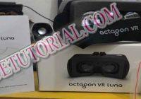 Review Menggunakan Cardboard Octagon VR