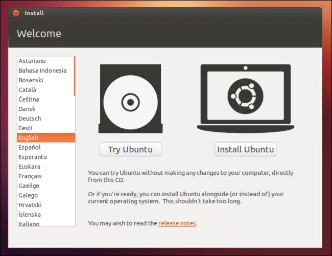Boot Dari USB Drive Live atau CD