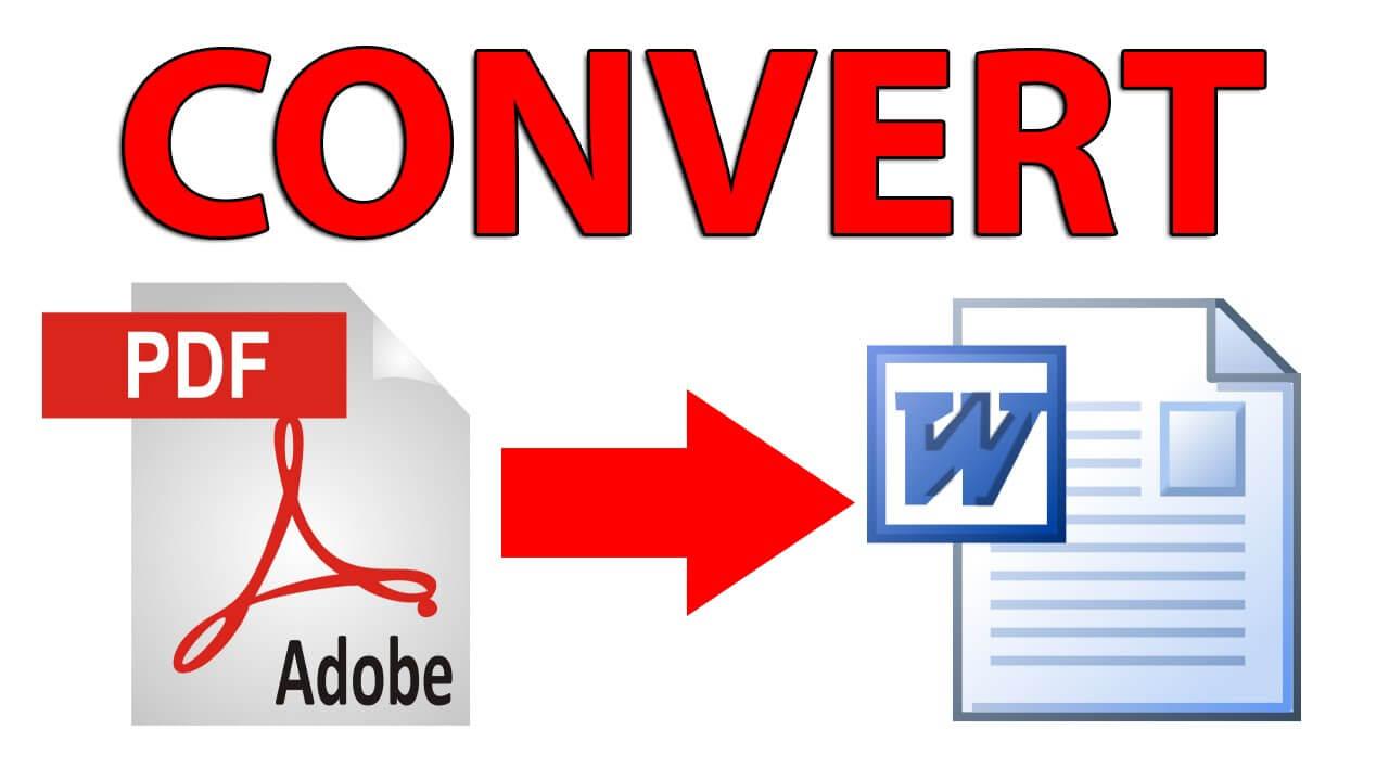Cara Mudah Convert File PDF ke Word