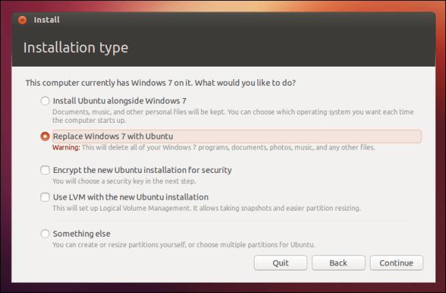 Mengganti Windows dengan Ubuntu, Dual Boot Ubuntu