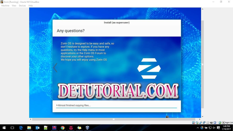 zorin os 12, Success Install Zorin OS, Dapatkan Zorin OS Linux Rasa Windows Gratis, zorin os 10