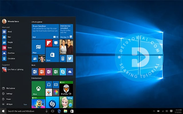 Fitur Windows 10 Enterprise N 32 bit ISO Feb 2017 Single Link Review, Fitur Windows 10 AIO 32/64 Bit 20in1 Diperbarui Okt 2019