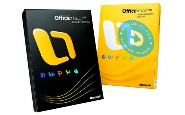 Download Gratis Microsoft Office 2008 untuk MAC Full Version