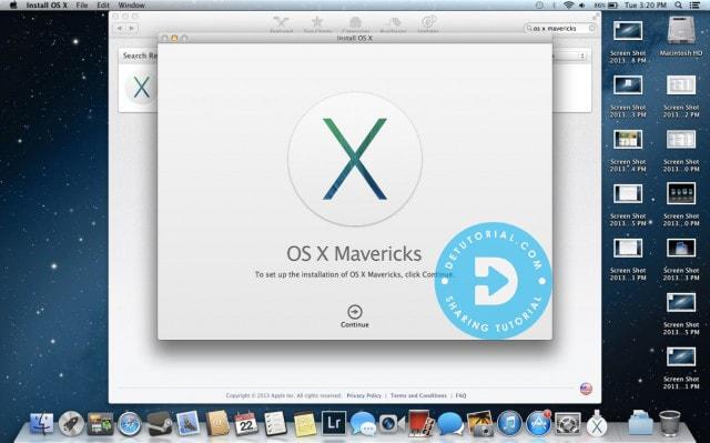 Fitur-fitur Niresh Mac OSX Mavericks 10.9 DMG