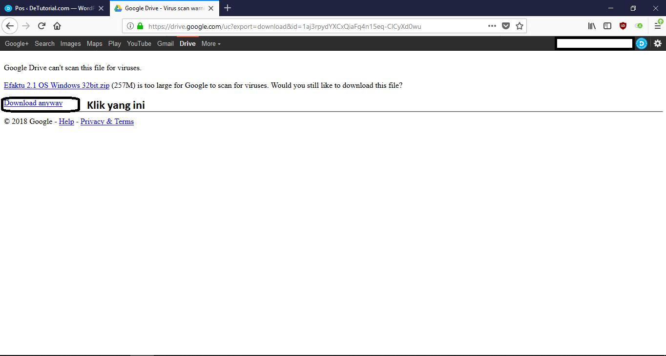 solusi error update efaktur terbaru 2.1 2018