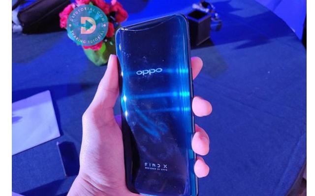 Spesifikasi Smartphone Oppo Find X