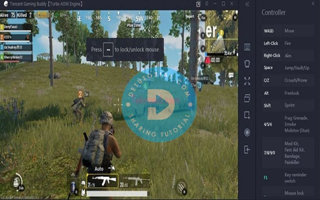 Kelebihan Bermain PUBG di PC Laptop