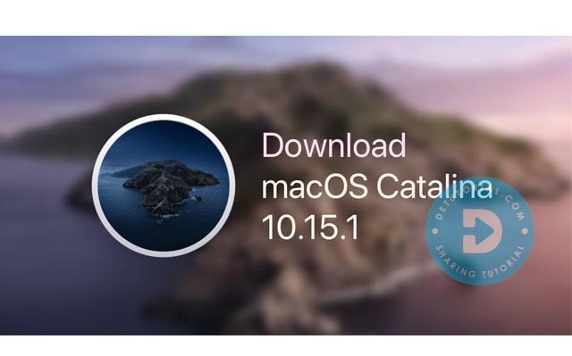 Download MacOS Catalina 10.15 Google Drive Gratis