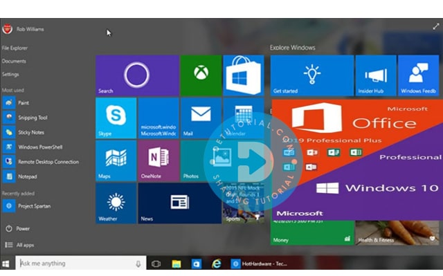 Persyaratan Sistem Untuk Windows 10 Pro incl Office 2019 November 2019