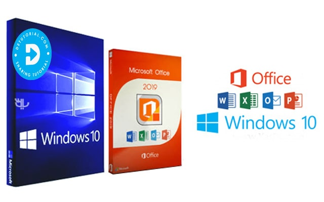 Windows 10 Pro + Office 2019 Terbaru Single Link